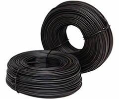 Two coils black annealed rebar tie wire
