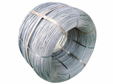 Spring steel wire packed in coil